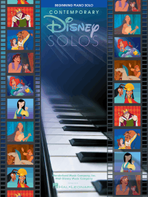 Contemporary Disney Solos - 2nd Edition