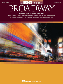 The Big Book of Broadway - 4th Edition