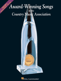 Award-Winning Songs of the Country Music Association (Songbook): Volume 3: 1997-2008