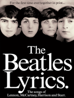 The Beatles Lyrics - 2nd Edition: The Songs of Lennon, McCartney, Harrison and Starr