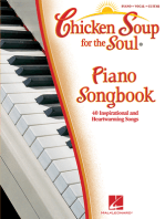 Chicken Soup for the Soul Piano Songbook: 40 Inspirational and Heartwarming Songs
