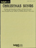 Christmas Songs: Budget Books