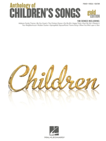 Anthology of Children's Songs - Gold Edition (Songbook)