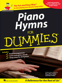 Piano Hymns for Dummies (Songbook)