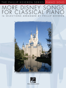 More Disney Songs for Classical Piano: arr. Phillip Keveren The Phillip Keveren Series Piano Solo