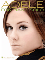 Adele for Piano Solo - 2nd Edition