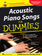 Acoustic Piano Songs for Dummies