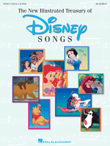 New Illustrated Treasury of Disney Songs (Songbook)