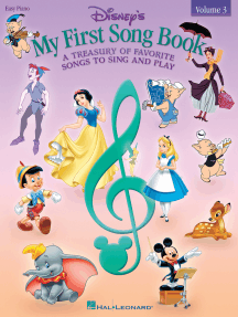 Disney's My First Songbook - Volume 3: A Treasury of Favorite Songs to Sing and Play