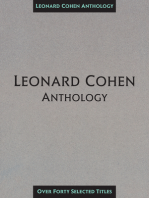 Leonard Cohen Anthology