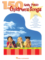 150 Easy Piano Children's Songs