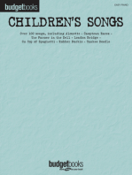 Children's Songs: Budget Books