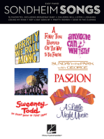 Sondheim Songs for Easy Piano