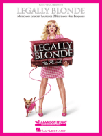 Legally Blonde - The Musical: Piano/Vocal Selections (Melody in the Piano Part)