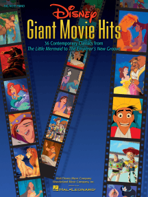 Disney Giant Movie Hits: 36 Contemporary Classics from The Little Mermaid to The Emperor's New Groove