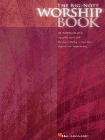 The Big-Note Worship Book (Songbook)