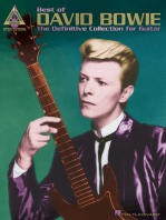 Best of David Bowie: The Definitive Collection for Guitar
