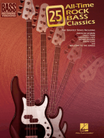 25 All-Time Rock Bass Classics: Bass Recorded Versions