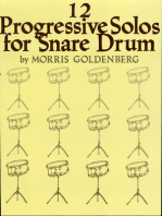 Twelve Progressive Solos for Snare Drum