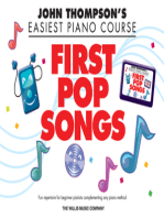 First Pop Songs: Elementary Level