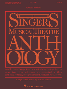 The Singer's Musical Theatre Anthology - Volume 1, Revised: Tenor Book Only