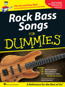 Rock Bass Songs for Dummies (Music Instruction)