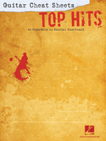 Guitar Cheat Sheets: Top Hits: 44 Mega-Hits in Musical Shorthand