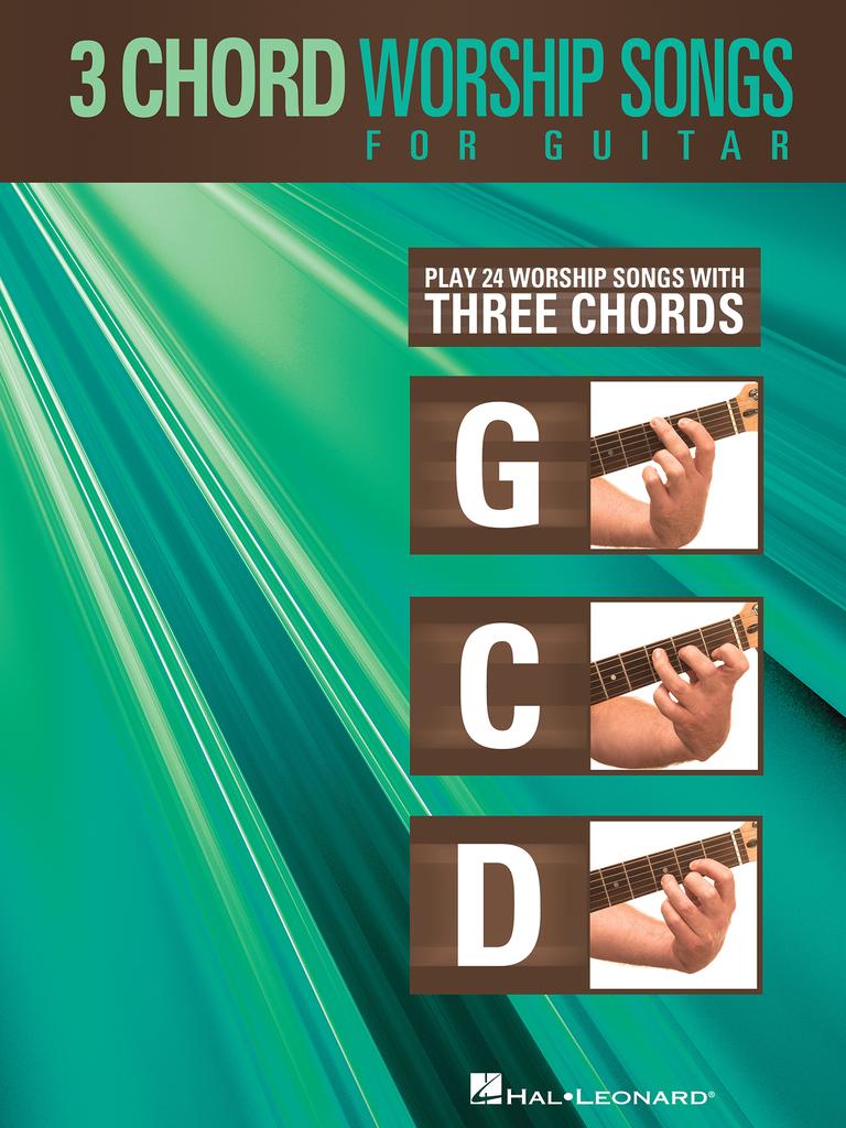 Нотное издание 15 Chord Worship Songs for Guitar автора Hal Leonard LLC