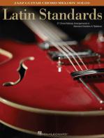 Latin Standards: Jazz Guitar Chord Melody Solos