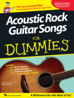 Acoustic Rock Guitar Songs for Dummies