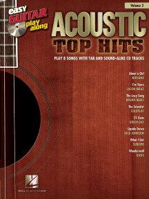 Acoustic Top Hits: Easy Guitar Play-Along Volume 2