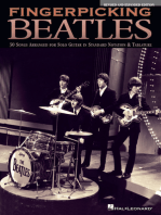 Fingerpicking Beatles - Revised & Expanded Edition: 30 Songs Arranged for Solo Guitar in Standard Notation & Tab