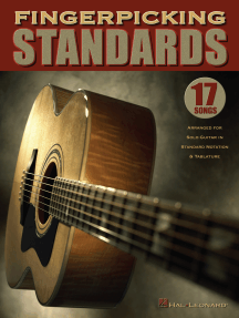 Fingerpicking Standards: 17 Songs Arranged for Solo Guitar in Standard Notation & Tablature