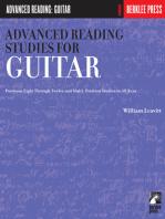 Advanced Reading Studies for Guitar: Guitar Technique