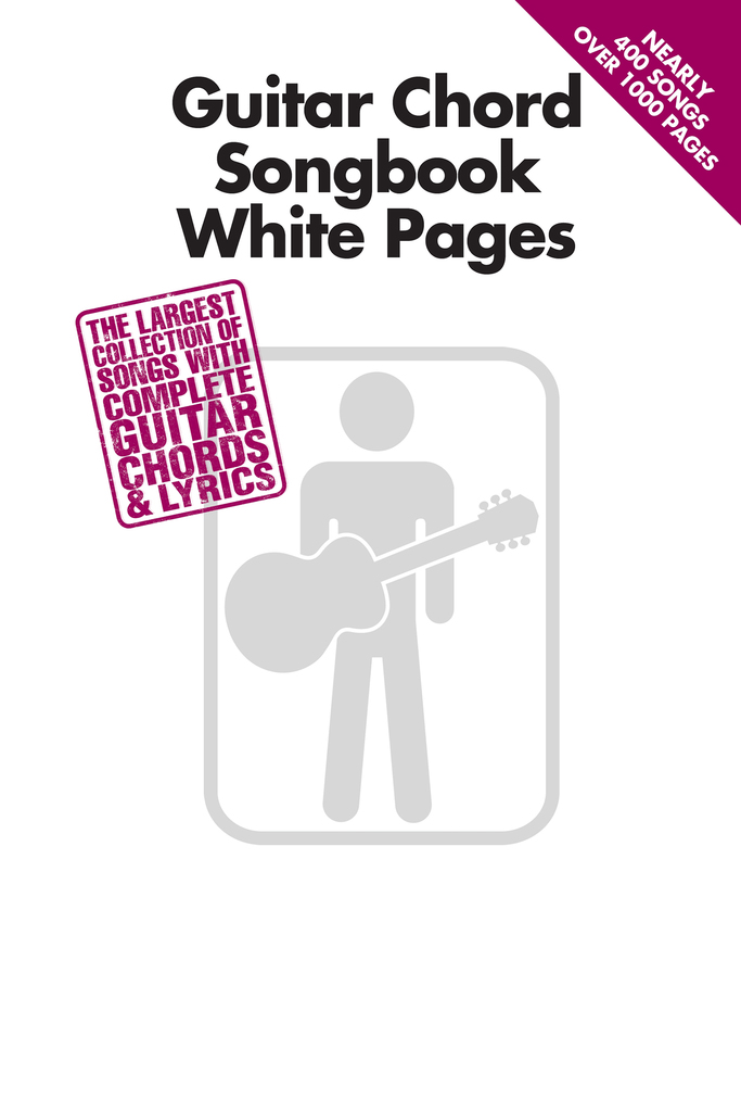 Guitar Chord Songbook White Pages Read Online