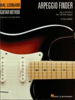Arpeggio Finder: Easy-to-Use Guide to Over 1,300 Guitar Arpeggios Hal Leonard Guitar Method