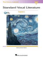 Standard Vocal Literature - An Introduction to Repertoire