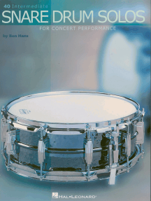 40 Intermediate Snare Drum Solos: for Concert Performance