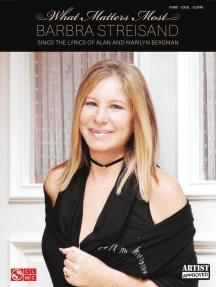 Barbra Streisand - What Matters Most: Barbra Streisand Sings the Lyrics of Alan and Marilyn Bergman