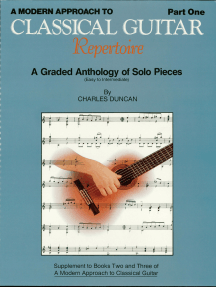 A Modern Approach to Classical Guitar - 2nd Edition: Book 1 - Book Only