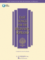 Easy Songs for the Beginning Soprano