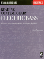 Reading Contemporary Electric Bass: Guitar Technique