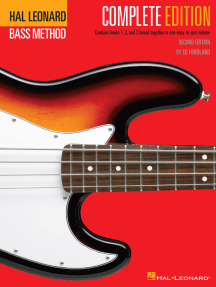 Hal Leonard Electric Bass Method - Complete Edition: Contains Books 1, 2, and 3 Bound Together in One Easy-to-Use Volume