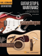 Hal Leonard Guitar Method - Setup & Maintenance: Learn to Properly Adjust Your Guitar for Peak Playability and Optimum Sound