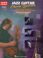 Jazz Guitar Chord System: Private Lessons Series