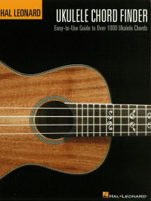 Hal Leonard Ukulele Chord Finder: Easy-to-Use Guide to Over 1,000 Ukulele Chords