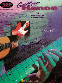 Guitar Hanon: Private Lessons Series