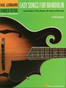Easy Songs for Mandolin: Supplementary Songbook to the Hal Leonard Mandolin Method