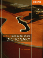 Berklee Jazz Guitar Chord Dictionary