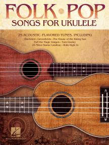 Folk Pop Songs for Ukulele (Songbook)